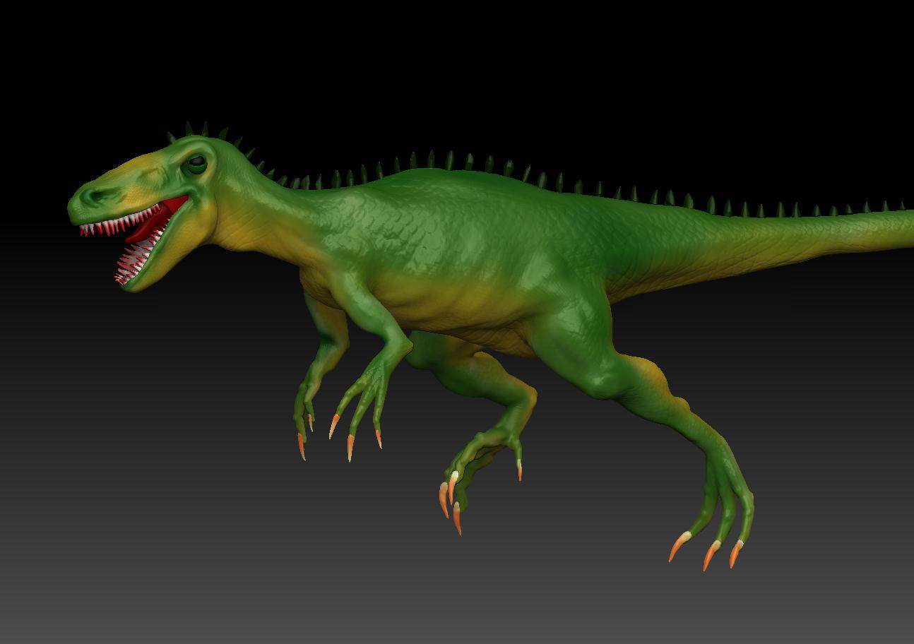 spacecraft 3d marker dinosaur - photo #12