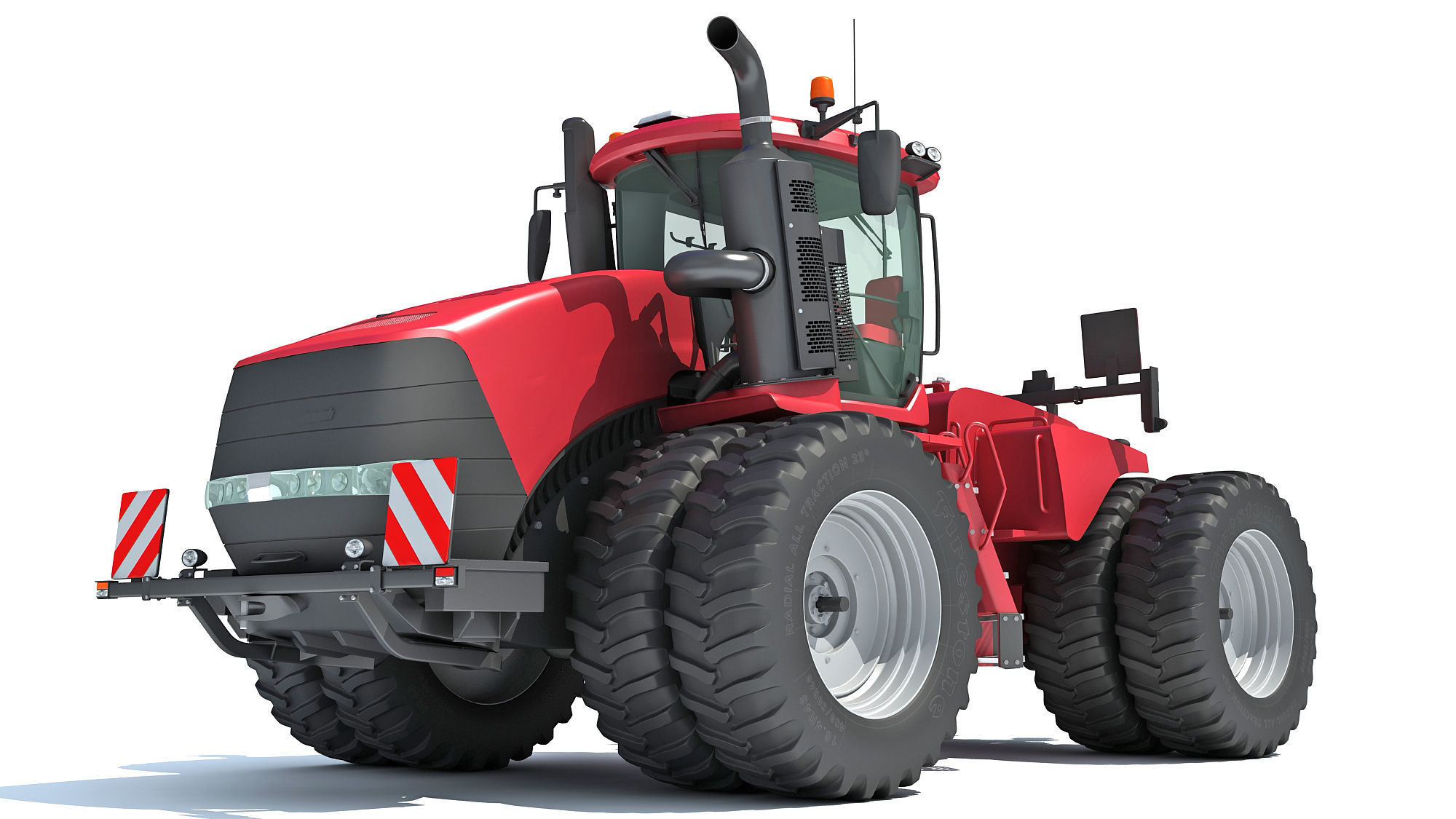 Wheeled Articulated Tractor