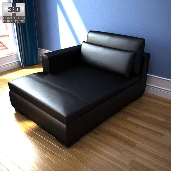 Ikea smogen chaise longue 3d model game ready max obj 3ds fbx c4d lwo - Chaise longue de jardin ikea ...