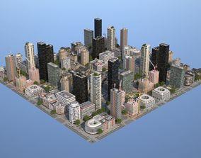 3D asset City KC9