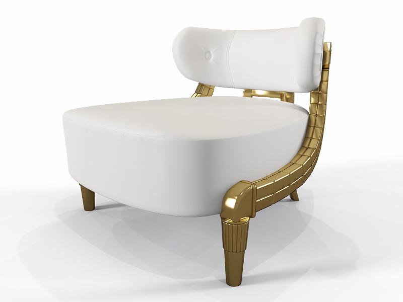 alexandra furniture. Coleccion Alexandra Kreslo 3d Model Max 1 Furniture