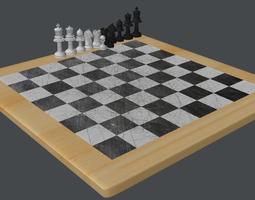 3D model Chess various