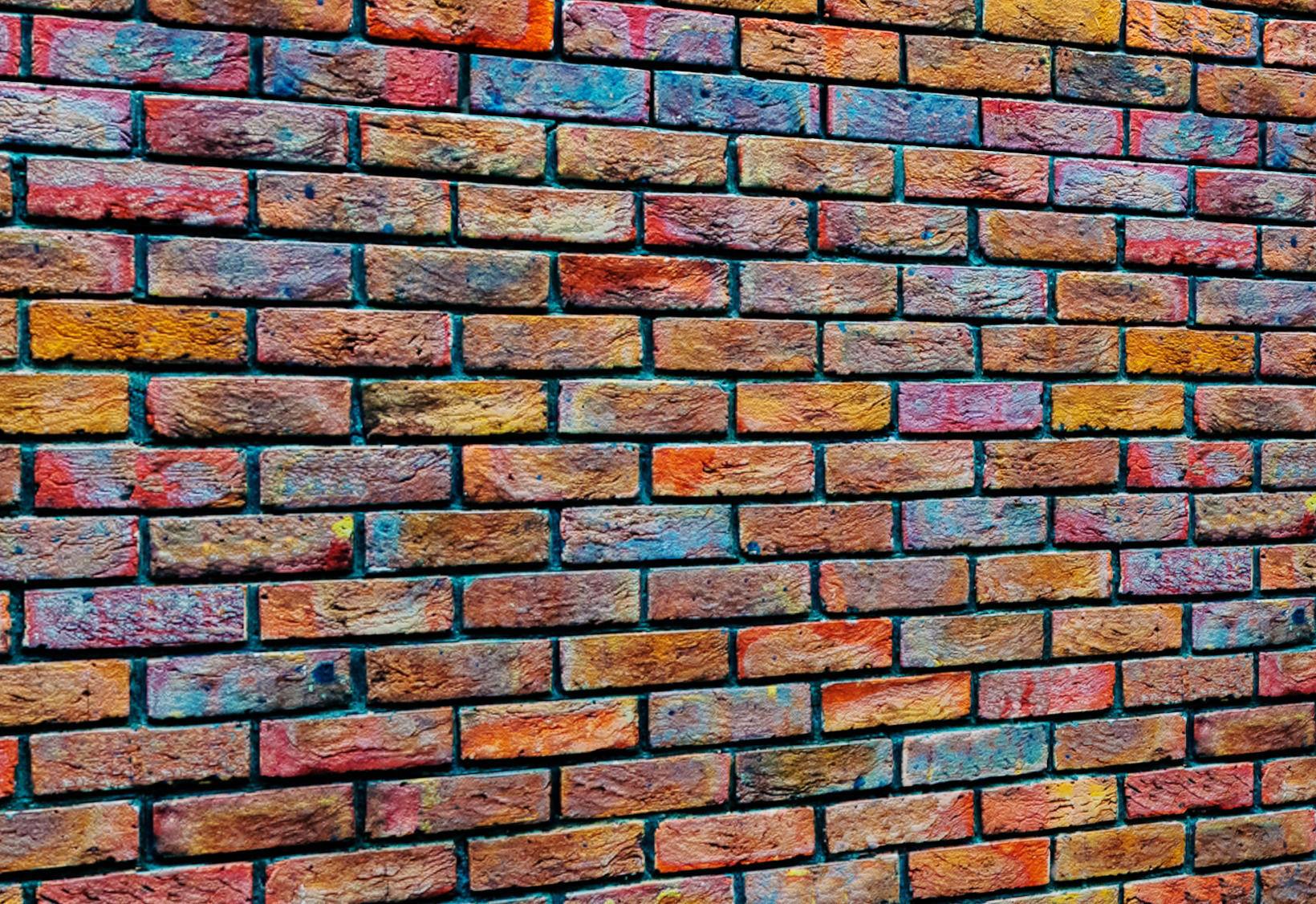 Bricks wall 19 3D model MAX OBJ FBX MTL