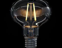LED Filament Bulb 06 3D Model