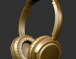 3D print model headphones
