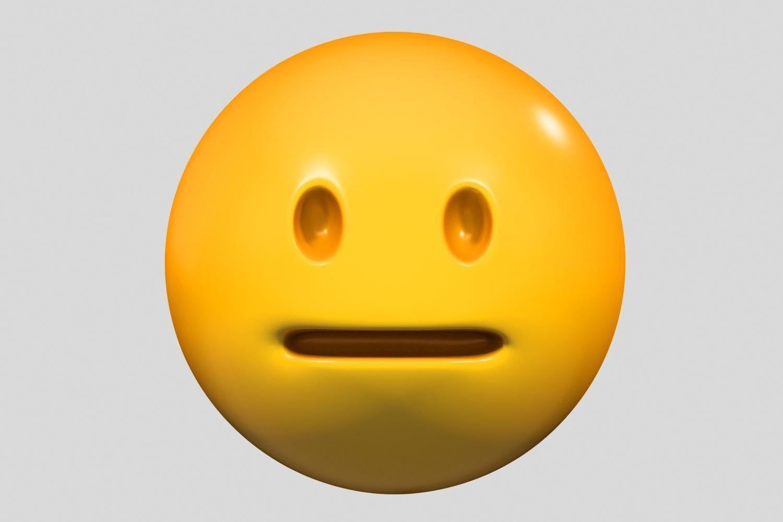 Emoji Neutral Face