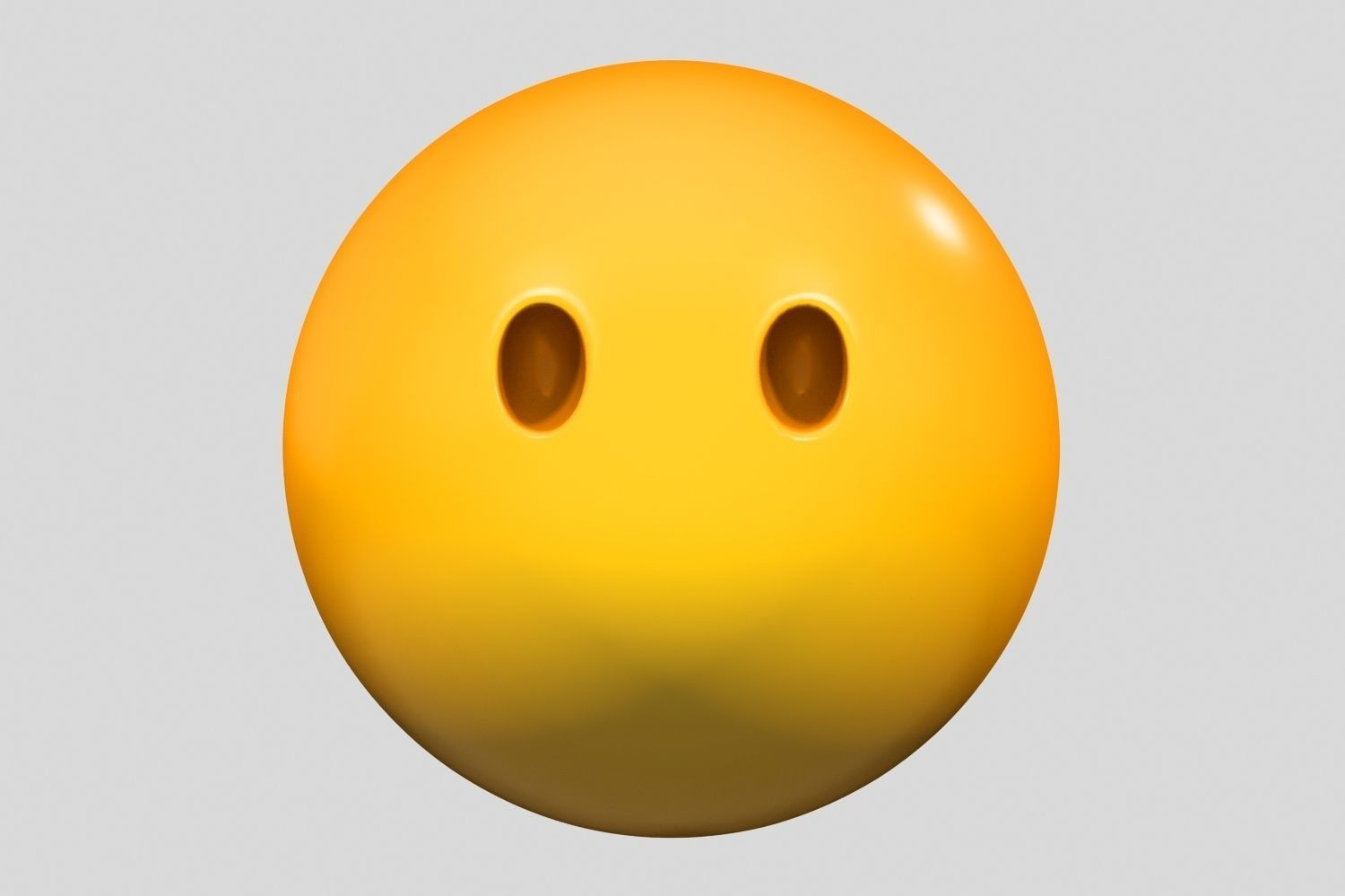 Emoji Face Without Mouth