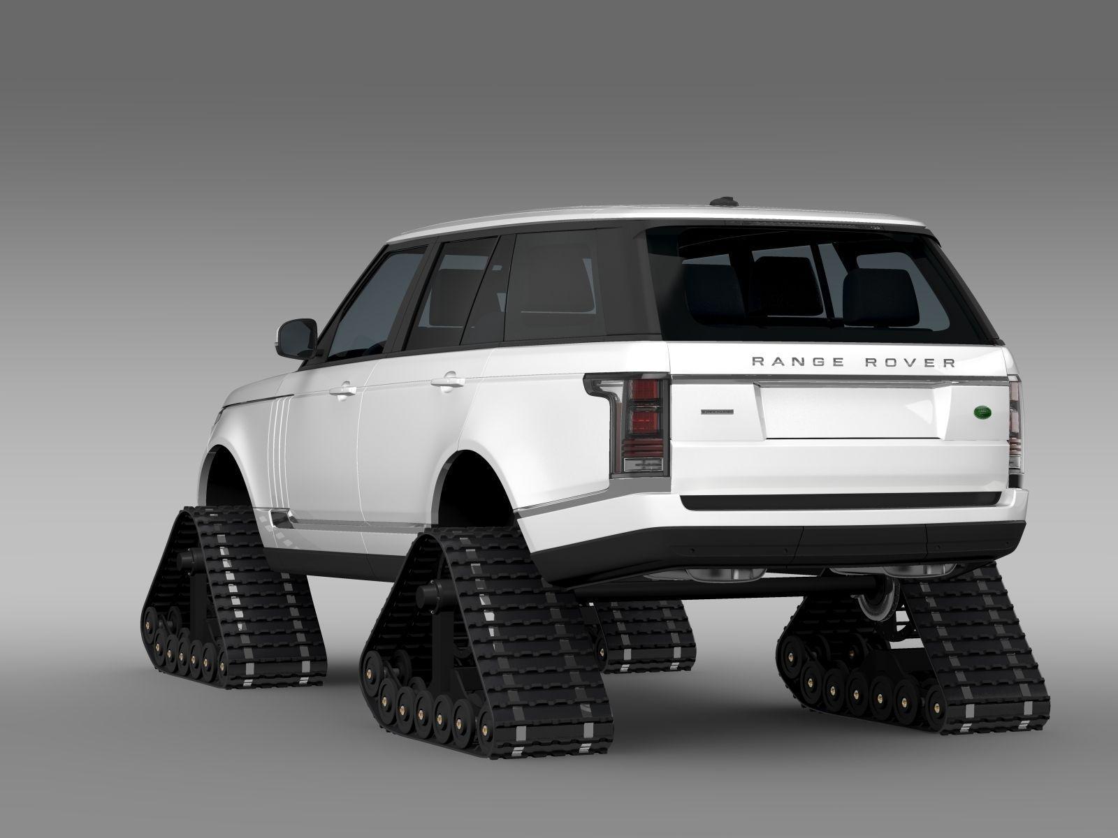 Range Rover Supercharged L405 Crawler 2016 3d Model Max Obj Mtl 3ds
