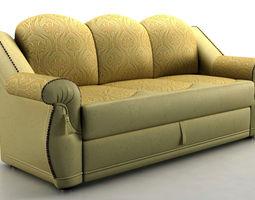 sofa Boston 3D Model