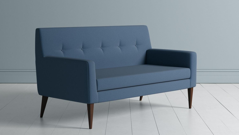 Retro Couch 3D model MAX OBJ 3DS FBX