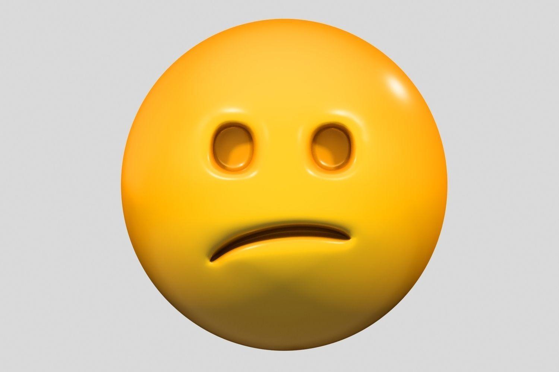 Emoji Confused Face