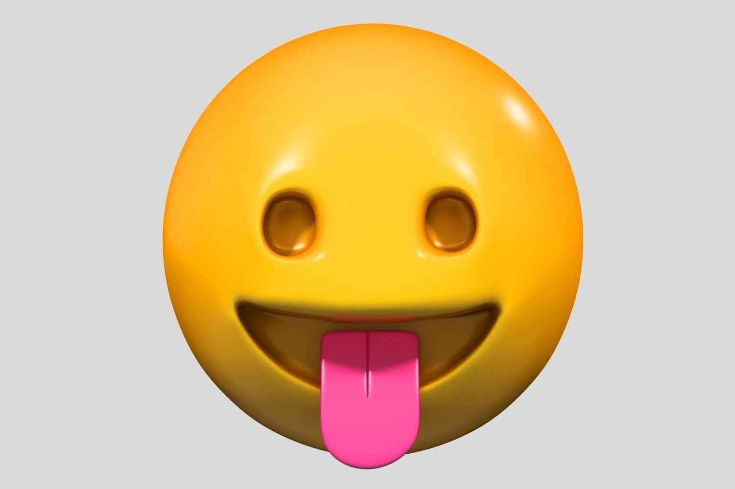 Emoji Face with Tongue