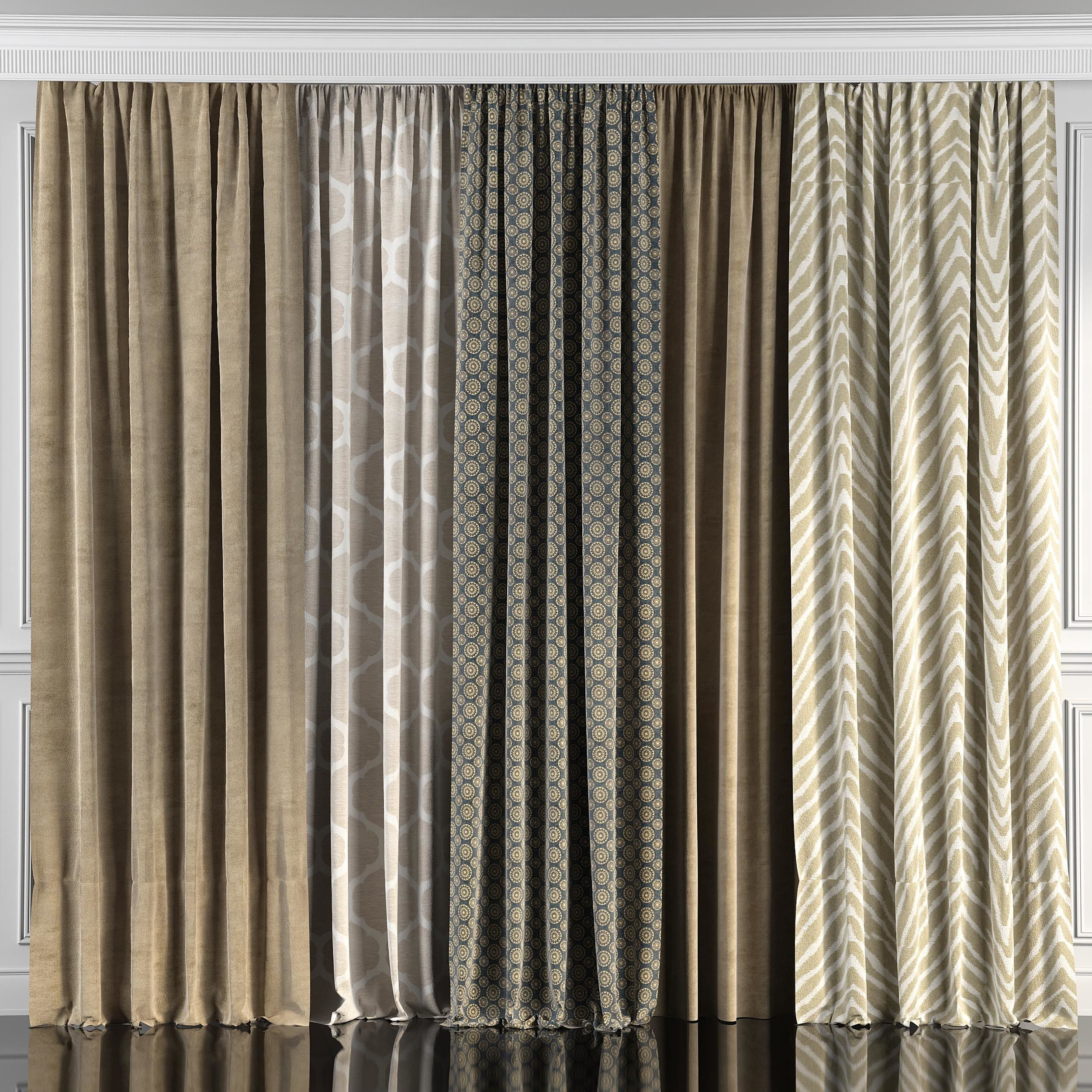 Curtain Set 45