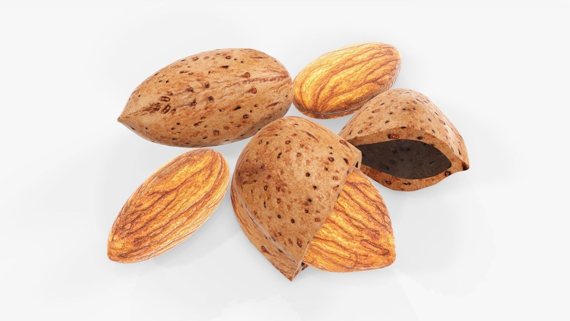 Nuts almond 03