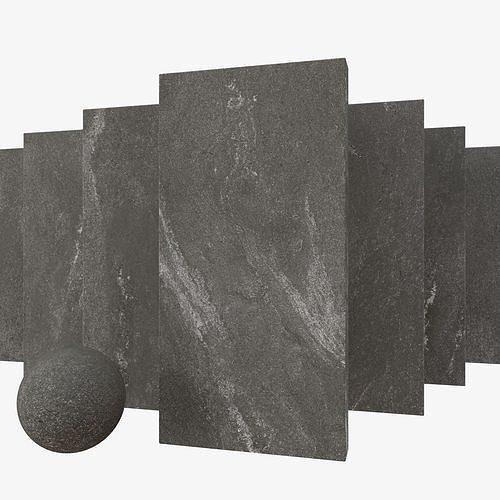 Stone Set Tierra Black 60x120 Set 2