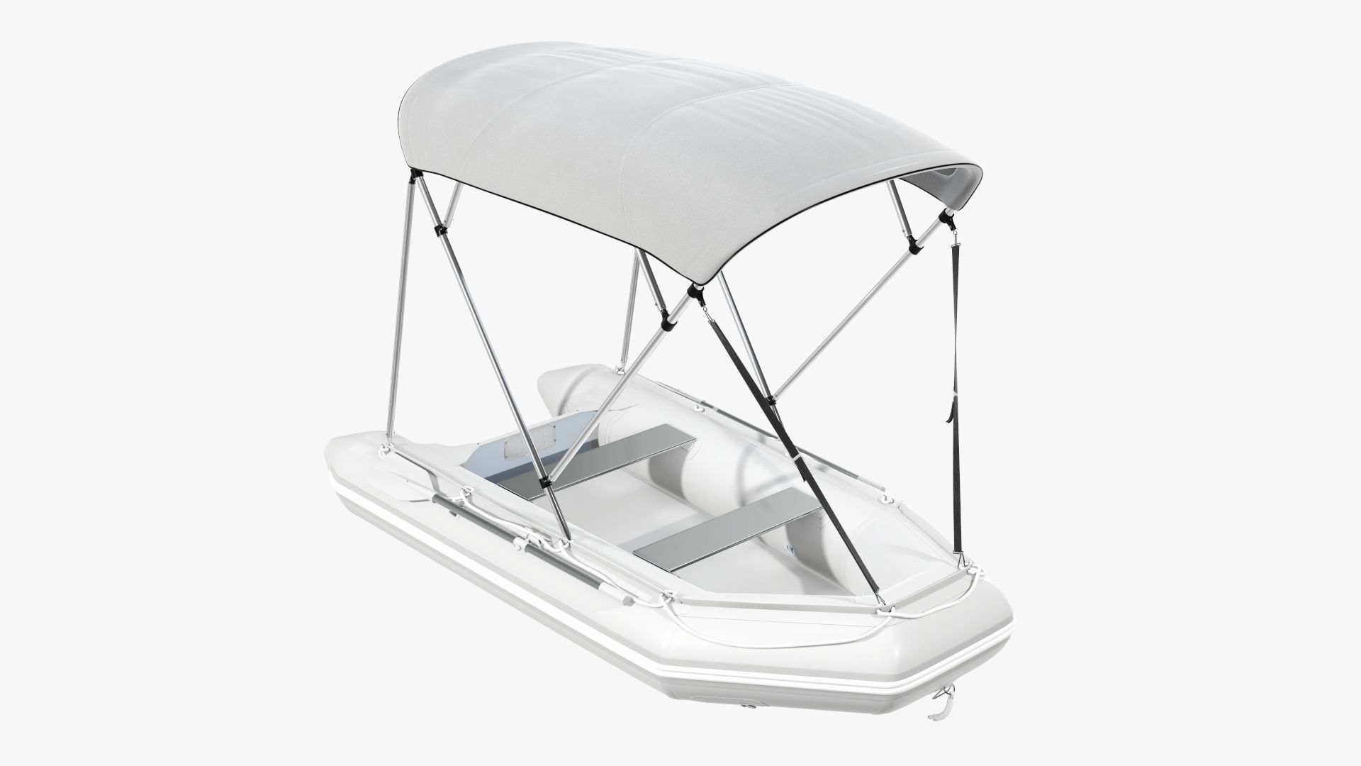 Boat inflatable 03 sunshade