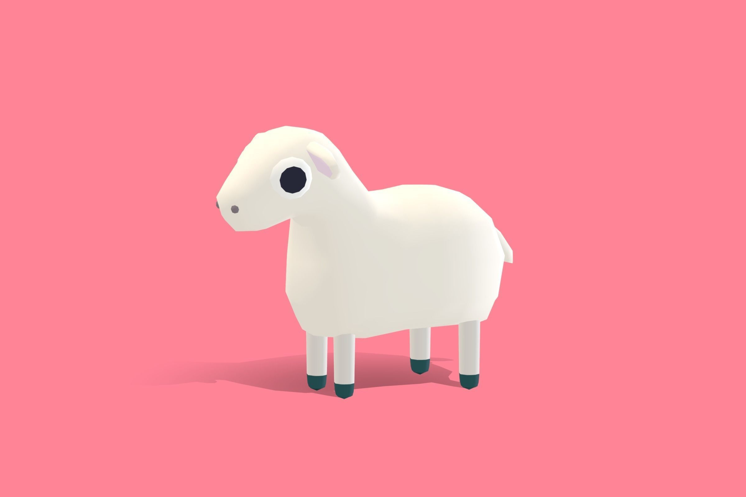 Lily the Lamb - Quirky Series