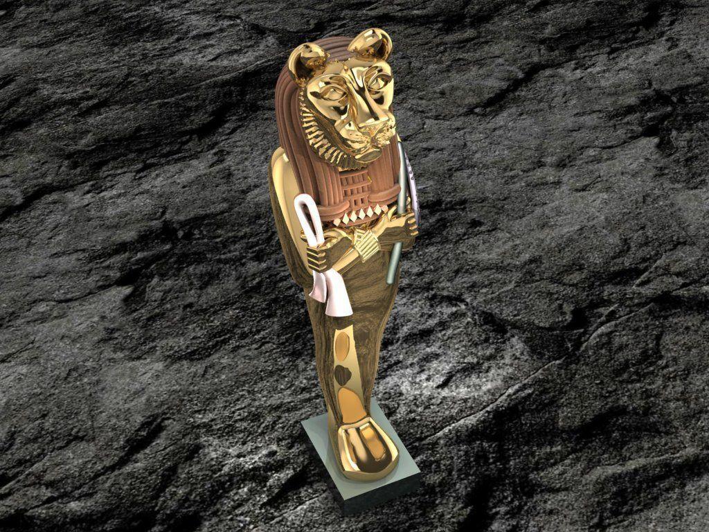 Ancient Egyptian Pharaoh 9