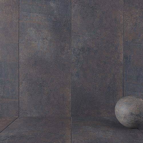 Stone Wall Tiles Etna Anthracite 120x270