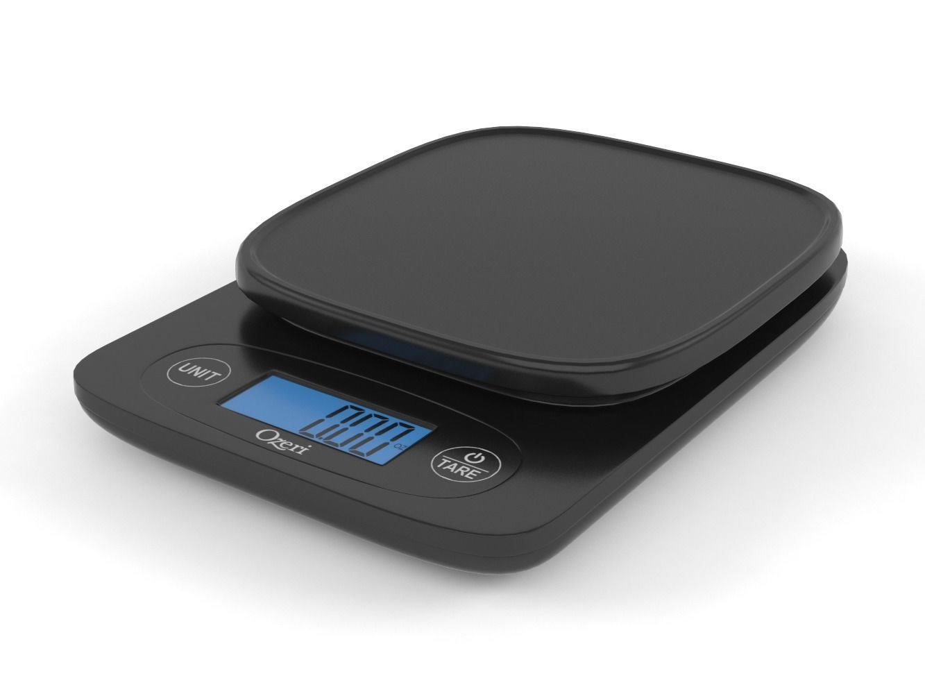 Weight 3d Model Digital Kitchen Scale Cgtrader