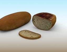 3D model game-ready Bread