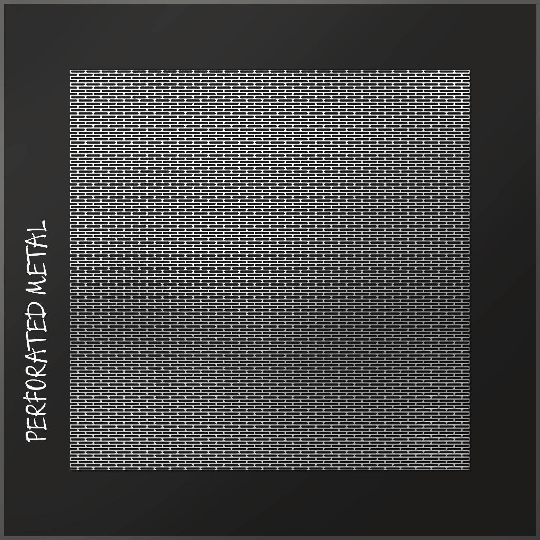 Perforated metal 5