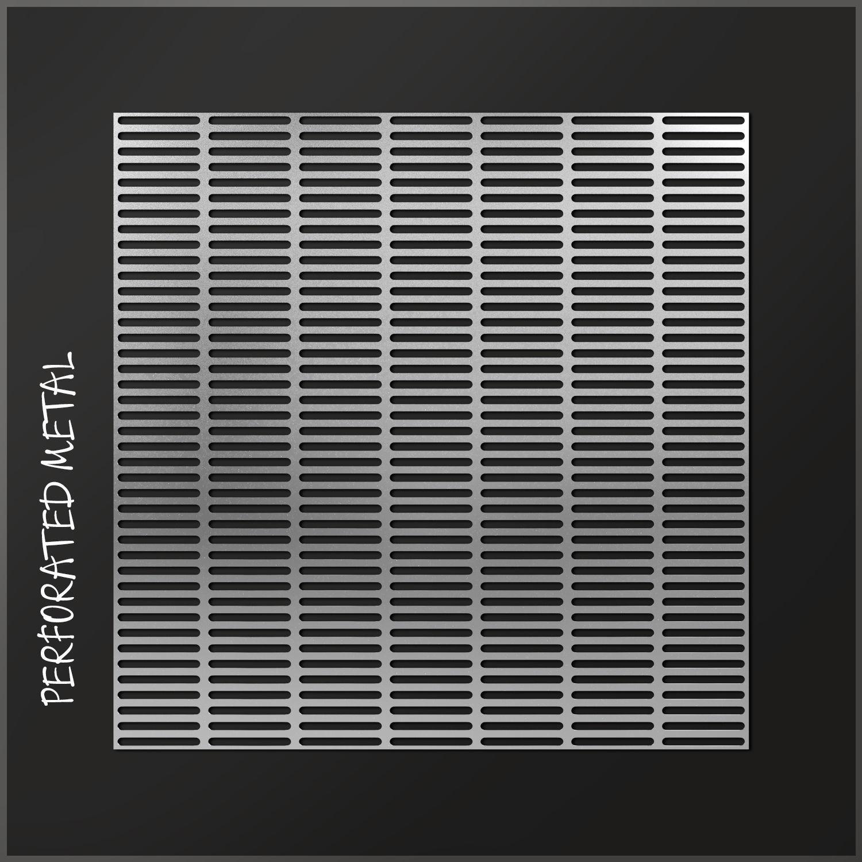 Perforated metal 6