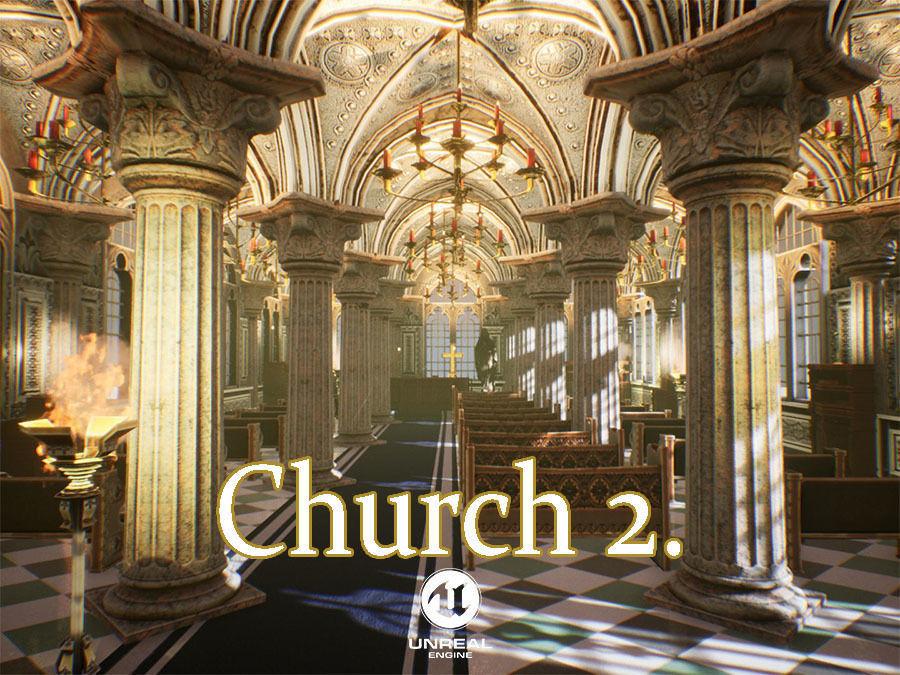 Church 2 Unreal Engine