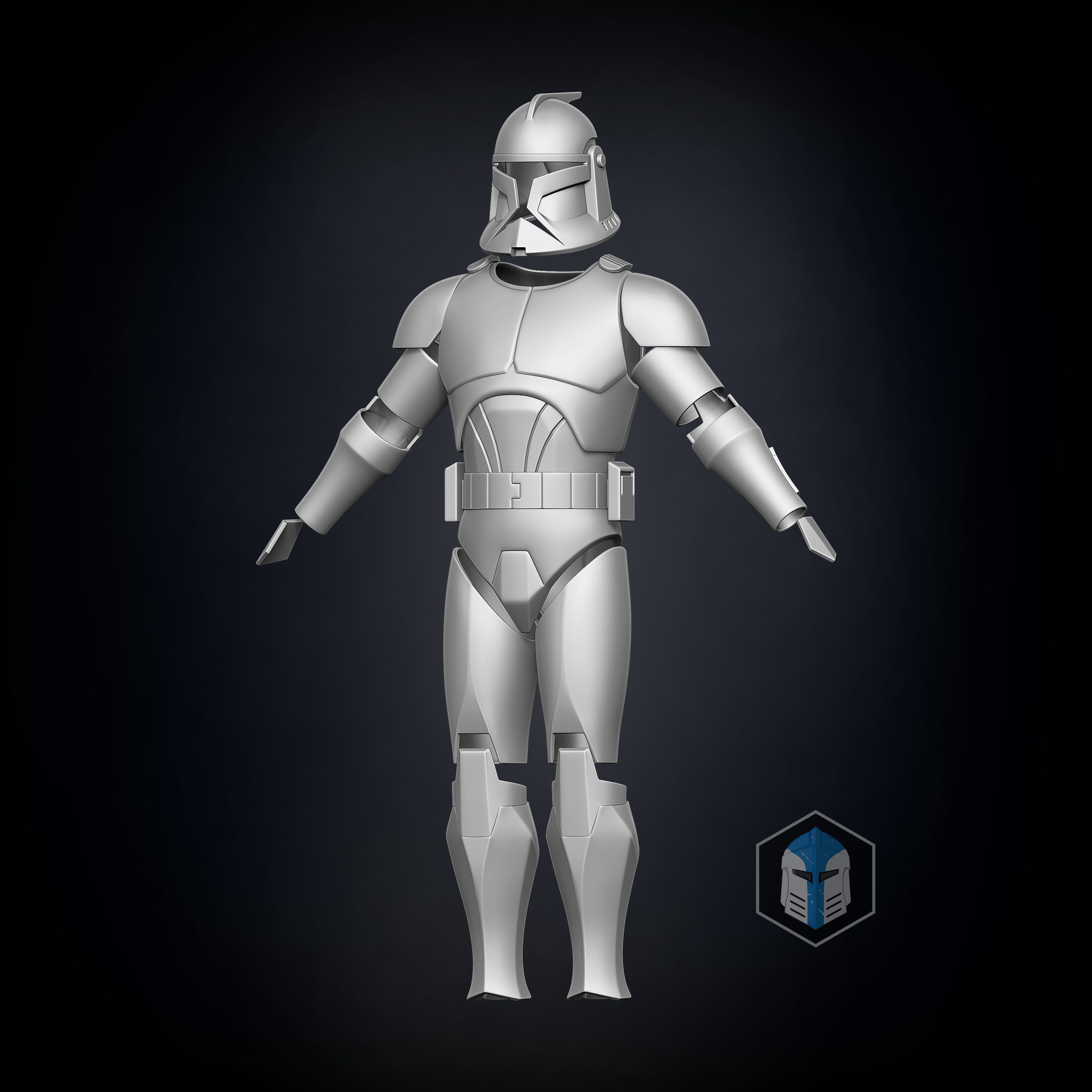 Phase 1 Animated Clone Trooper Armor