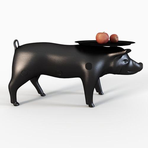 MOOOI pig3D model