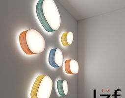 lzf ceiling and wall light 3d