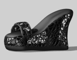 f shoes 3d printable model