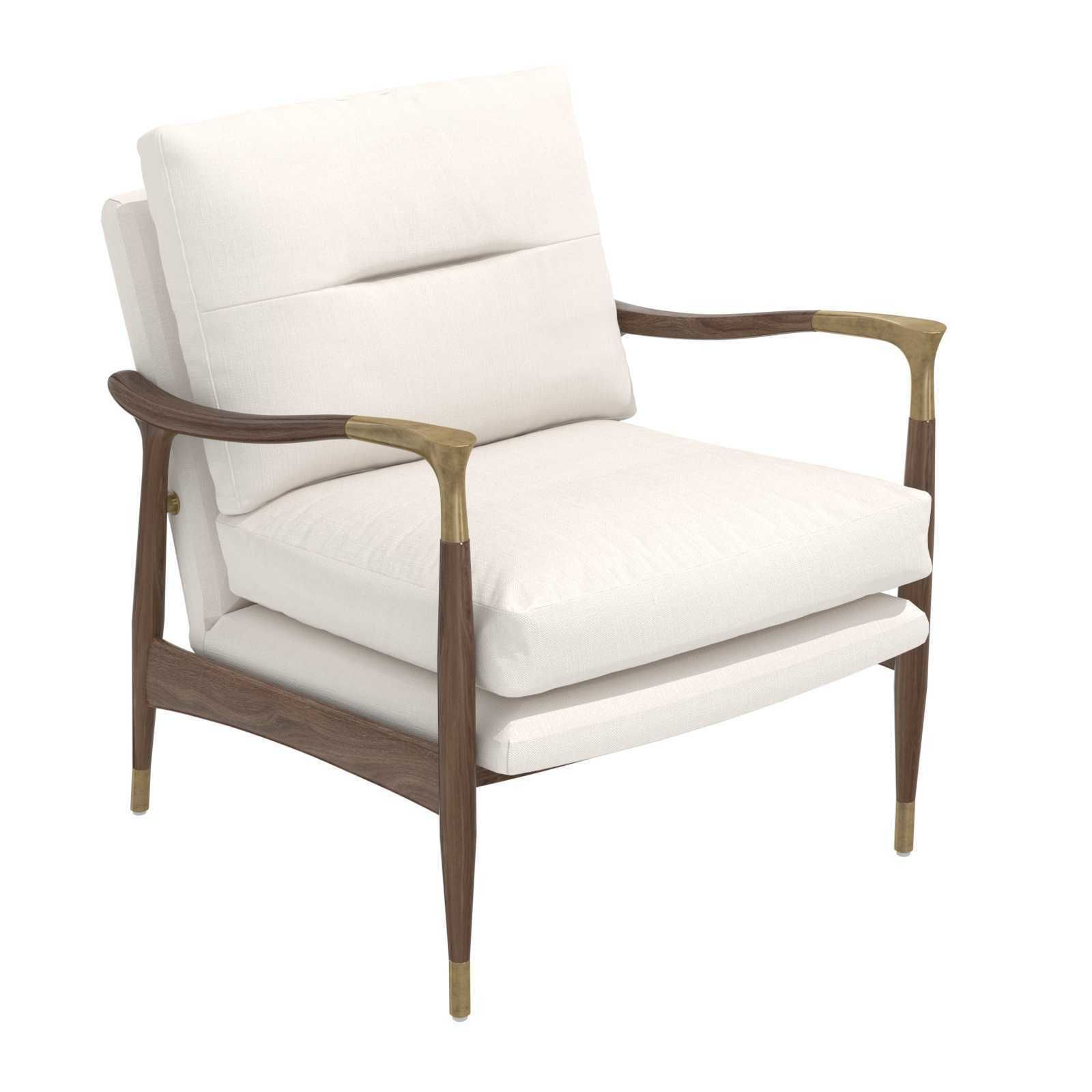 Theodore Arm Chair Natural Linen soho home