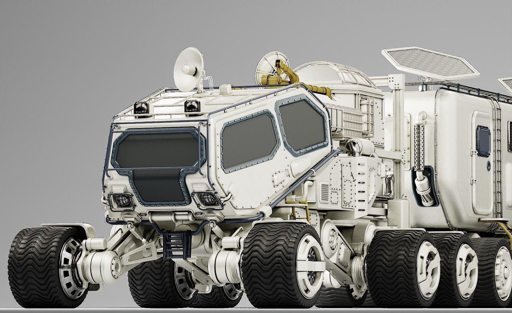 Mars Transport Rover