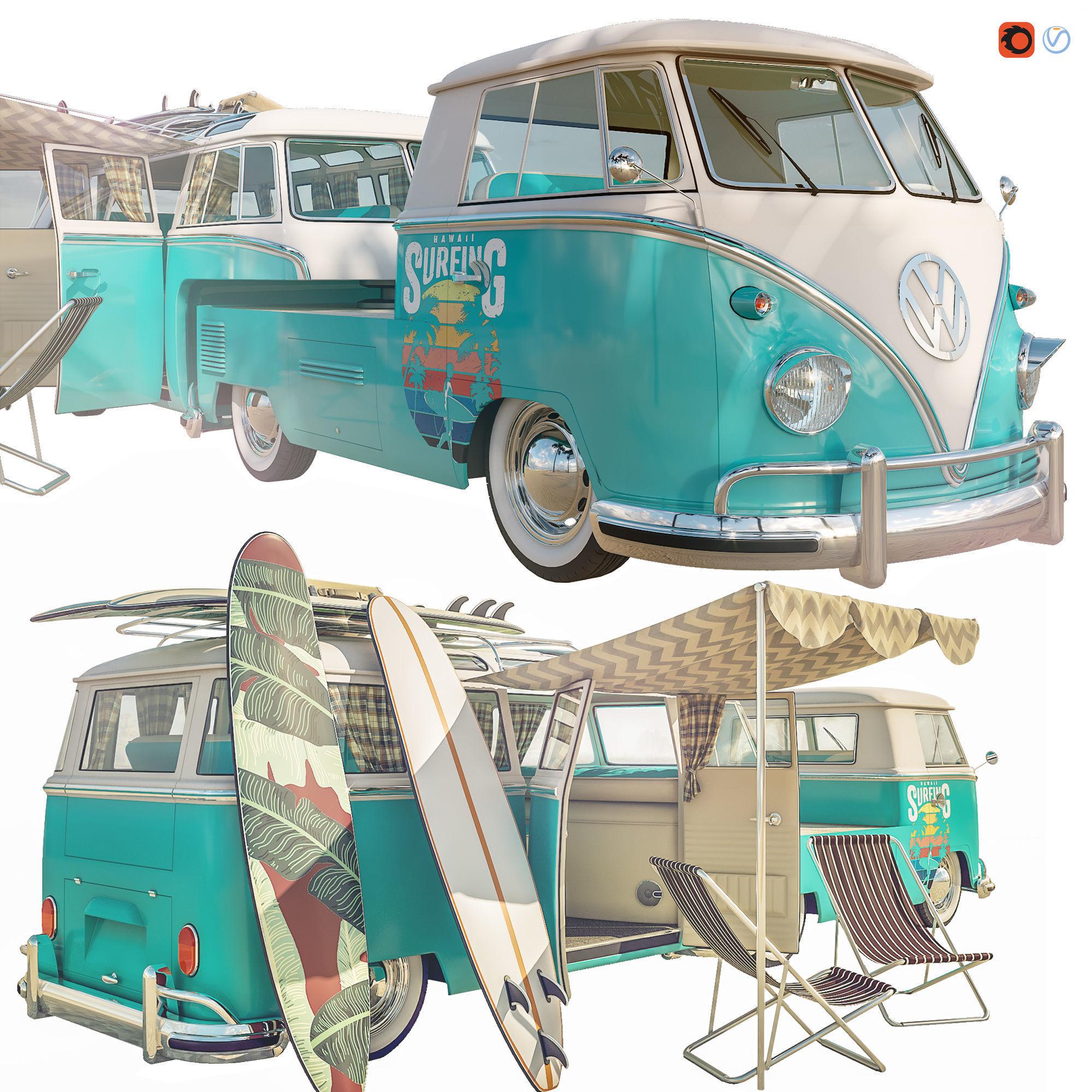 Volkswagen Camper T1 Surfing