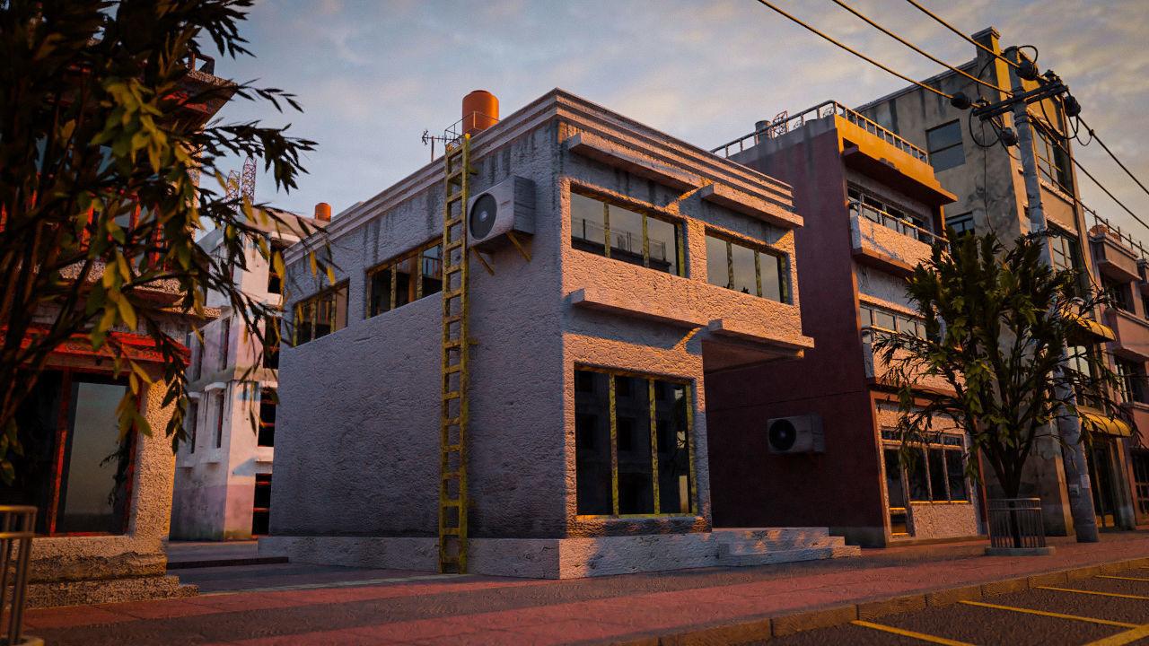 BUILDING URBAN AREA HONGKONG JAPAN CHINA ASIAN 02
