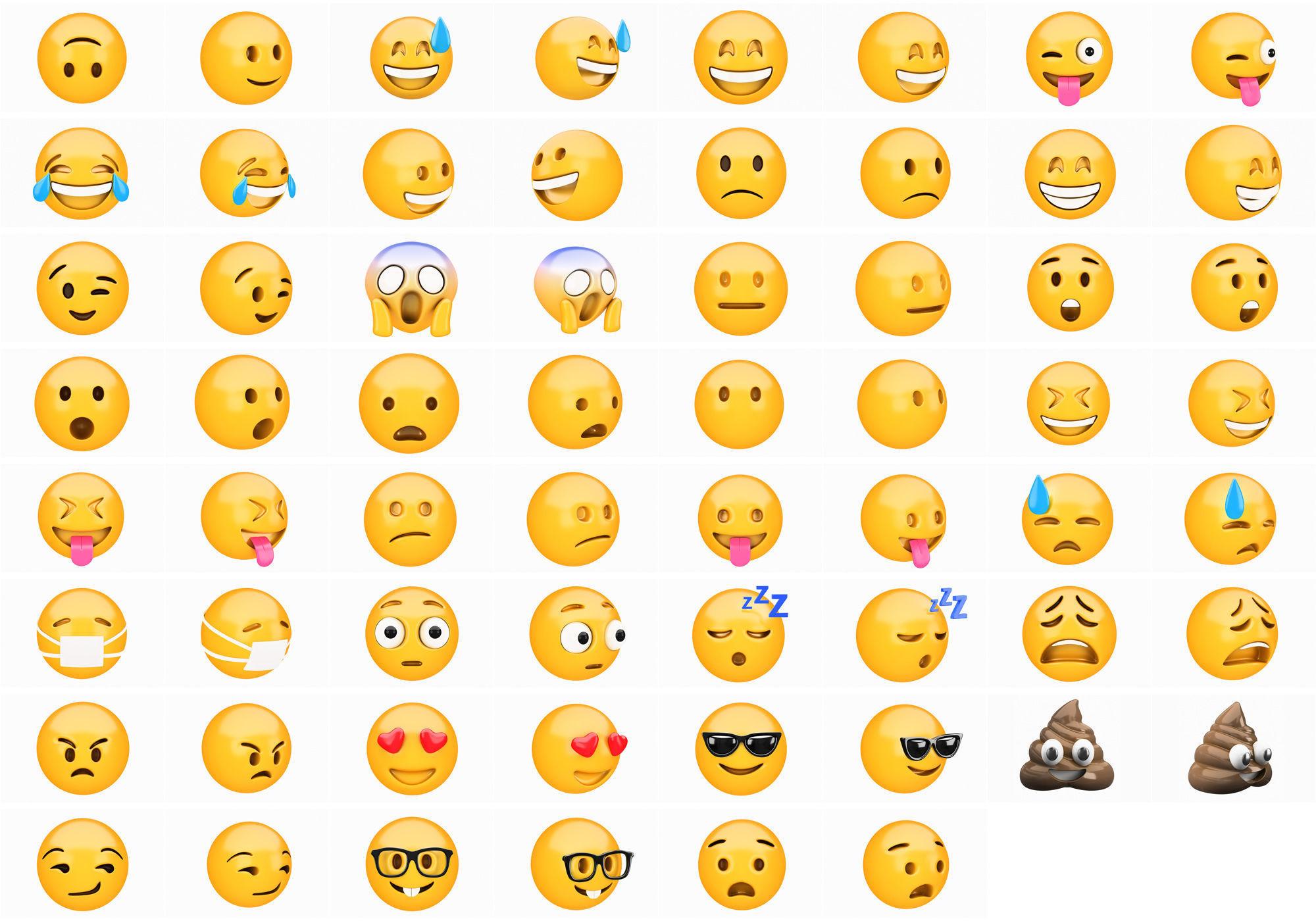 Emoji huge pack collection 31x