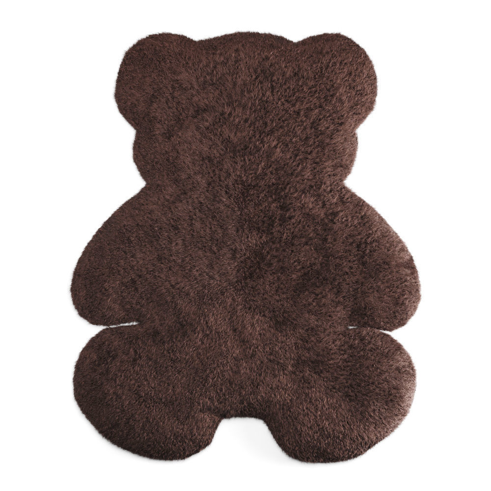 Bear Shaped Wool Carpet