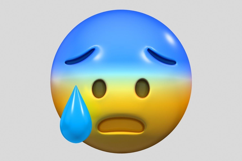 Emoji Fearful Face