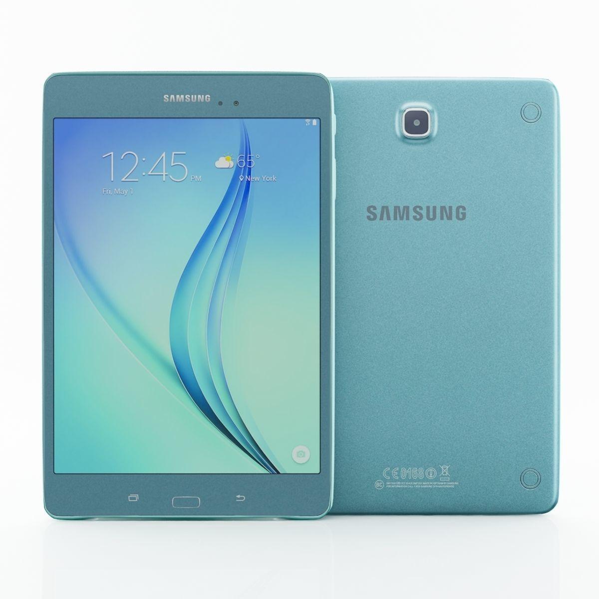 Samsung Galaxy Tab E 9  7 blue