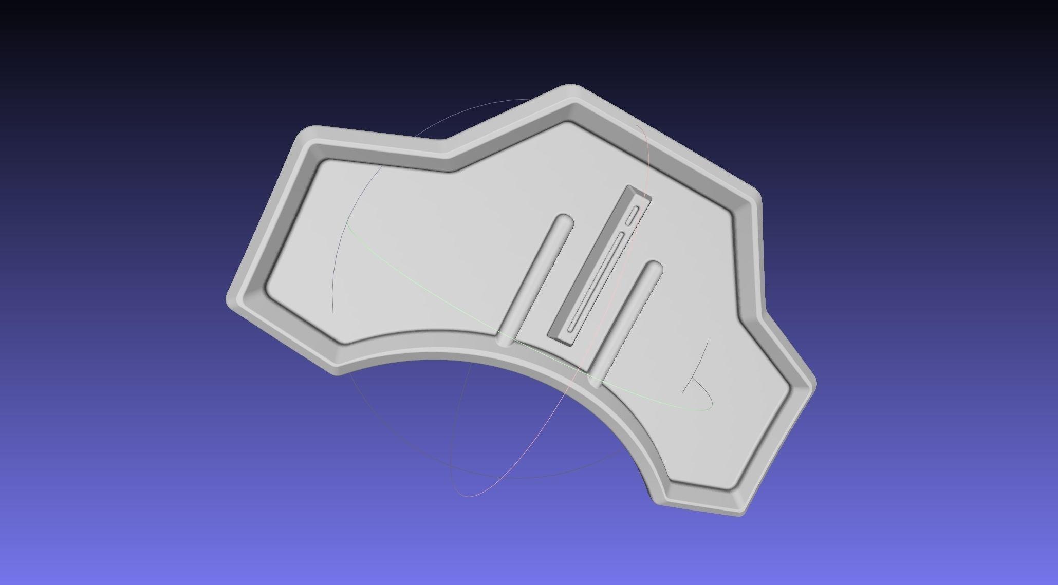 Star Wars Mandalorian Cara Dune Back Armor