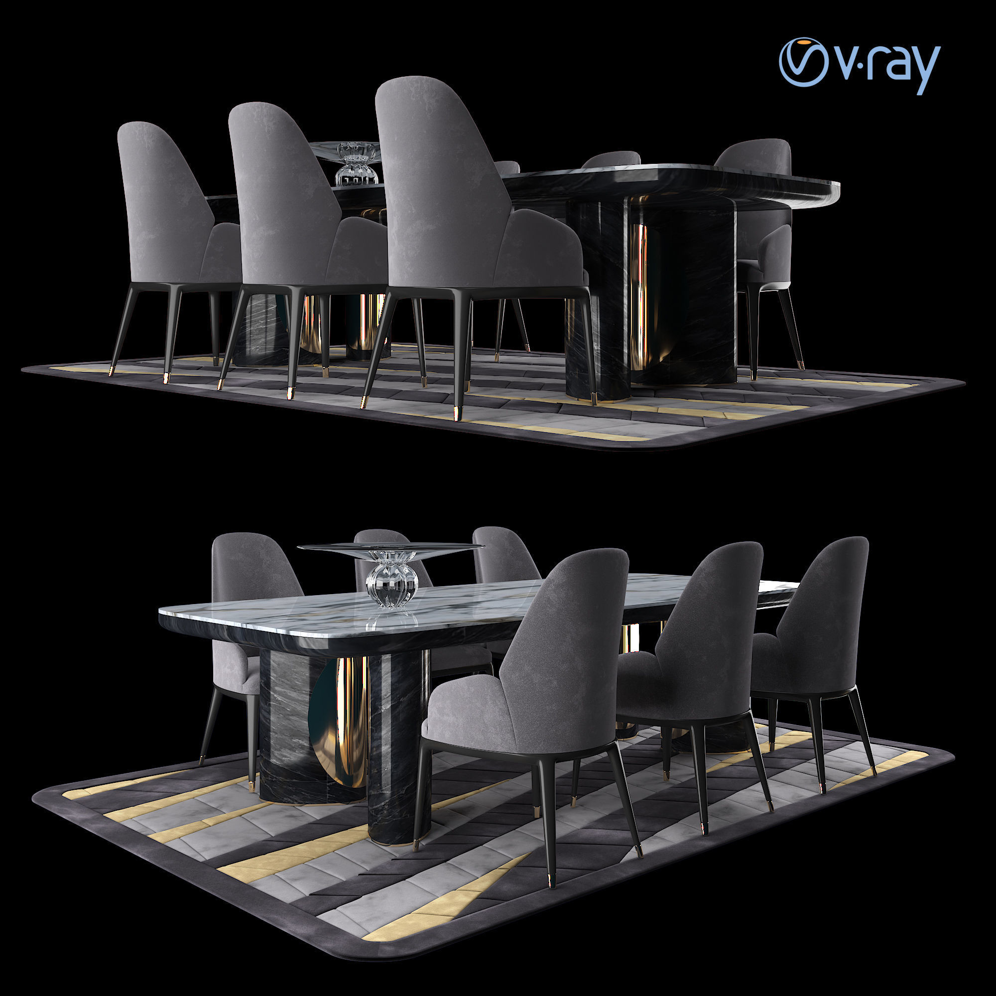 LUXURY - Charisma Dining Table Chair