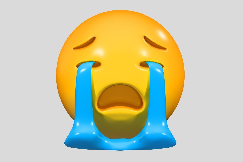 Emoji Loudly Crying Face