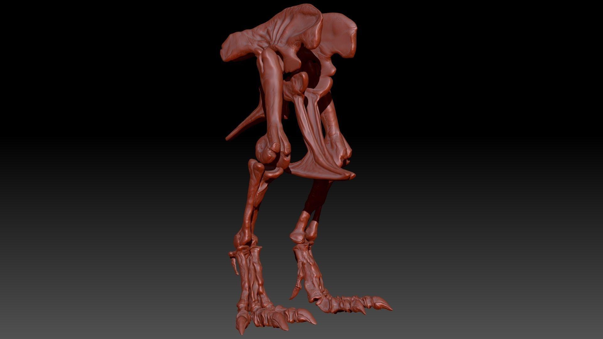 TRex Hip-Leg Set Skeletons