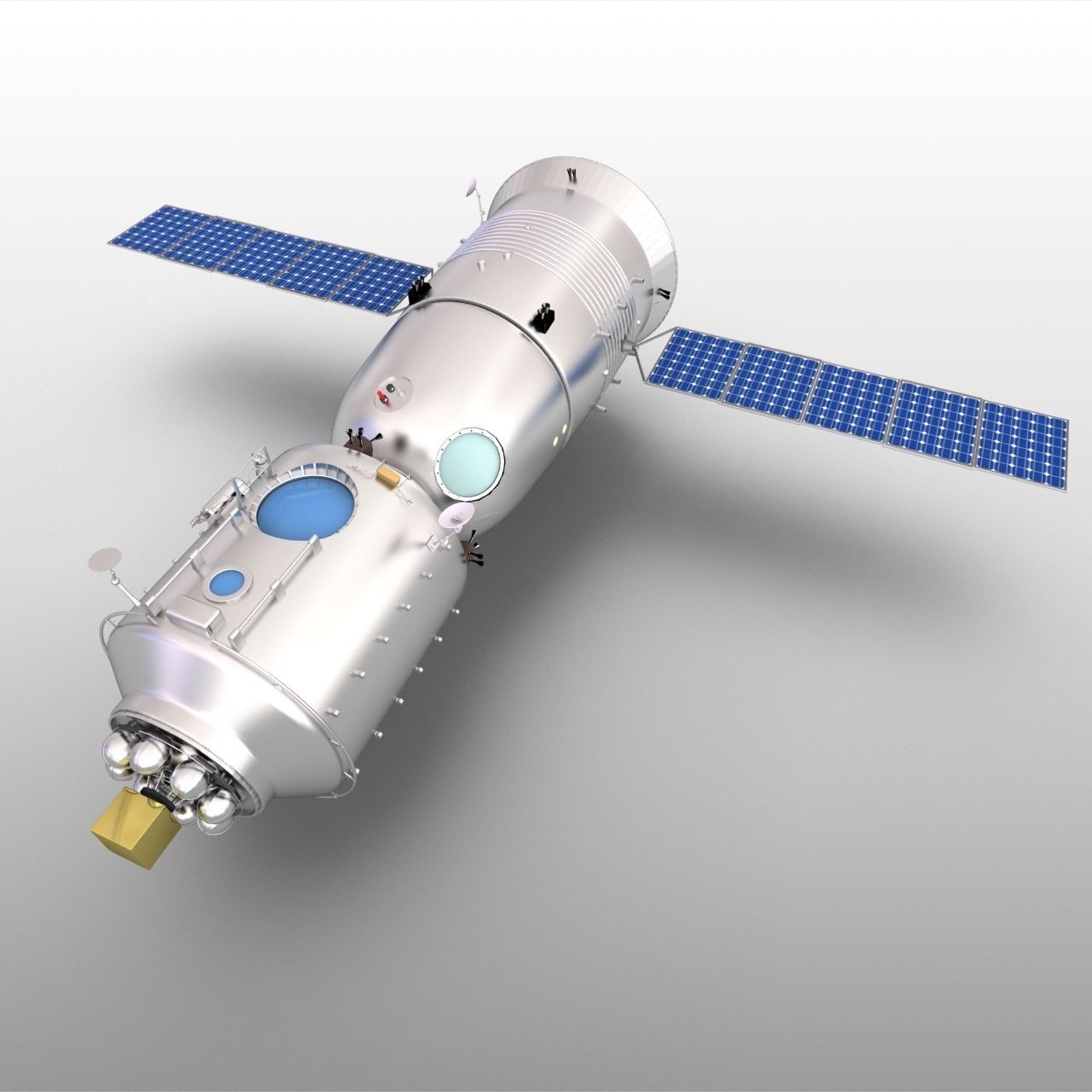Shenzhou7 Spaceship earth Tiangong1 spacecraft manned laboratory