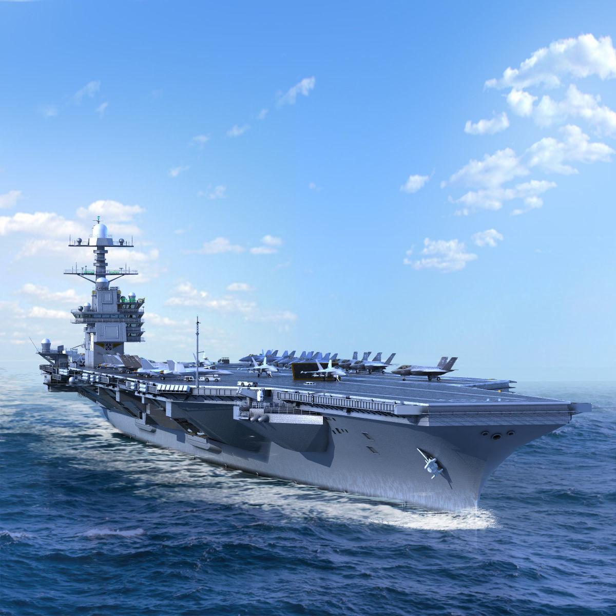 Aircraft Carrier USS Gerald Ford CVN78