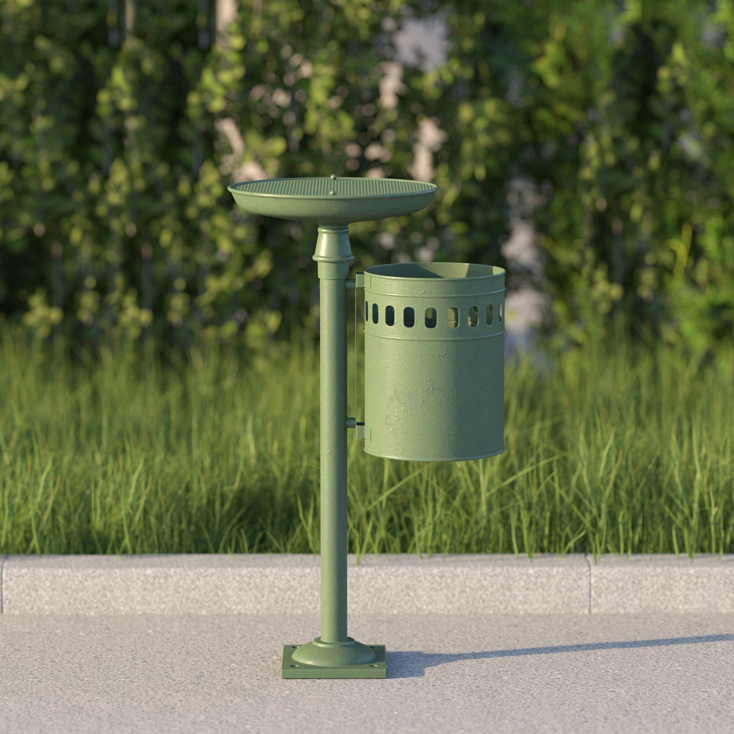 vienna public ashtray dustbin