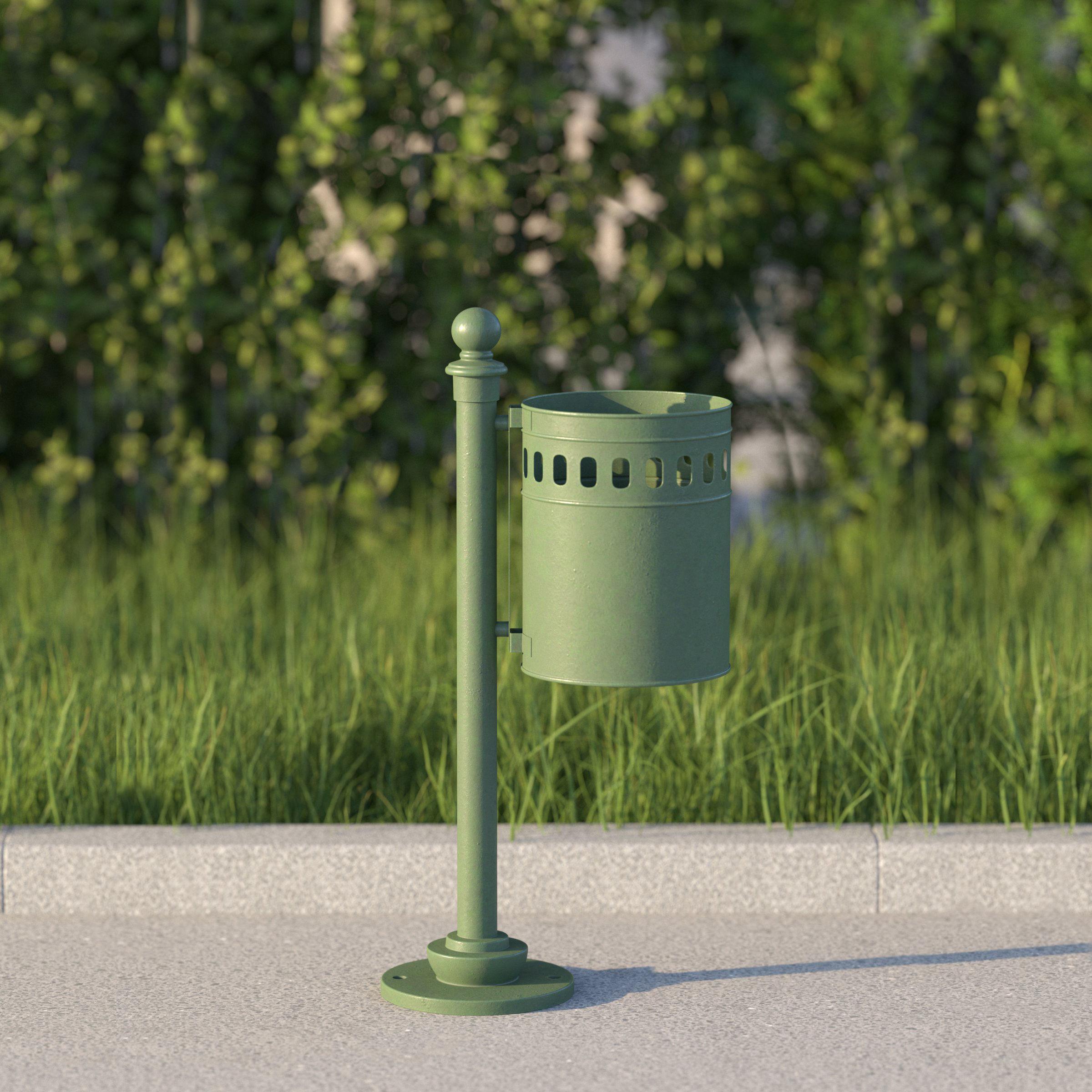 vienna public dustbin