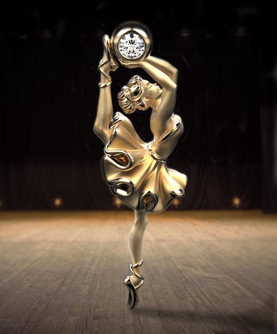 Ballet soul pendant