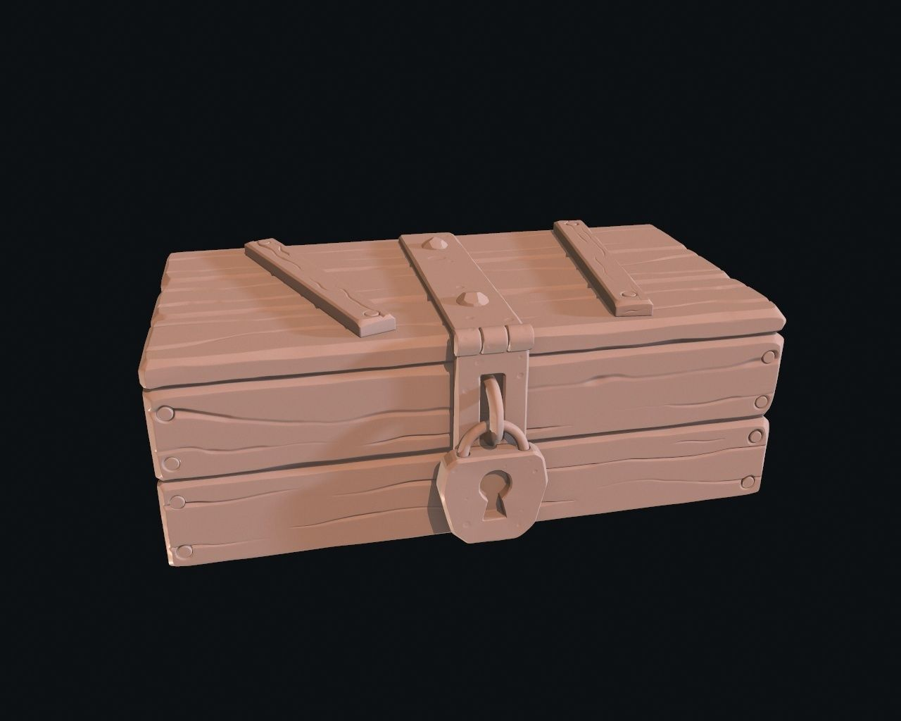 Stylized box